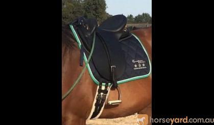 Bates Kimberly Stock Saddle as new on HorseYard.com.au