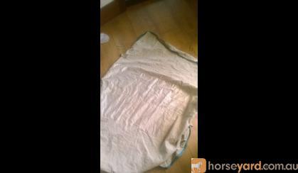 Kool Coat size L cotton neck rug with satin lining on HorseYard.com.au