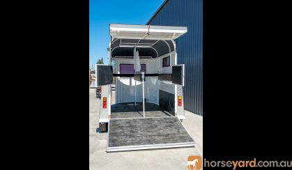 Price Dropped! | Horse Float | 2 Horse Float Straight Load - Supreme on HorseYard.com.au