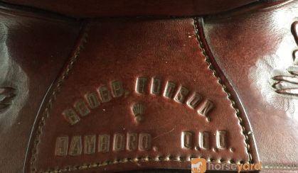 Geoff Hudson Western Saddle on HorseYard.com.au