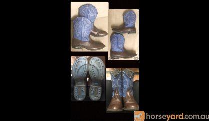 Kids Roper Lightning Western boots. on HorseYard.com.au