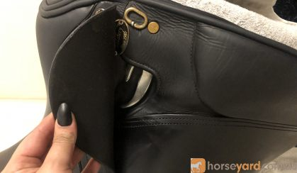 "Peter horobin black dressage saddle 16.5"" on HorseYard.com.au"