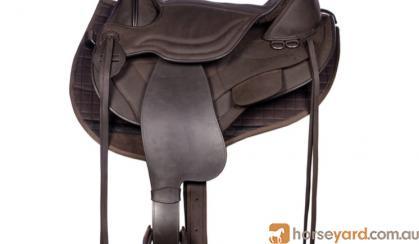 Treeless saddle on HorseYard.com.au