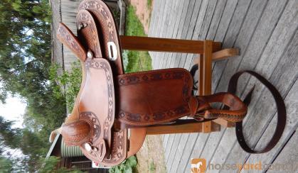 Western Saddle designed by Dale Fredericks on HorseYard.com.au