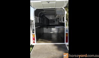 2015 Stephen Jays 3/4HAL float with kitchen on HorseYard.com.au
