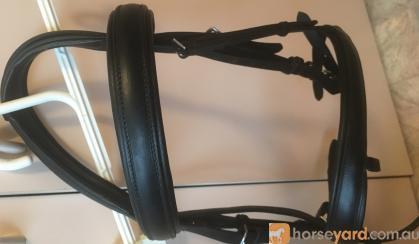 As new Mal Byrne 2x bridle set black  on HorseYard.com.au
