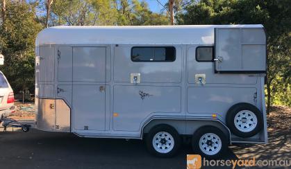 Ross Miller 3-Horse Extended Angle Float on HorseYard.com.au