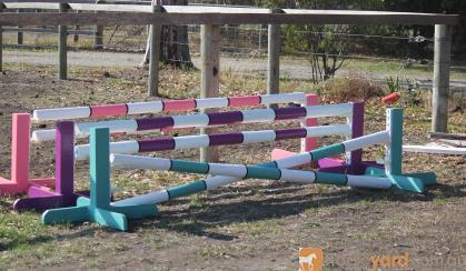 Toddler show jumps 60cmH x 2.4mL set of 3 jumps on HorseYard.com.au