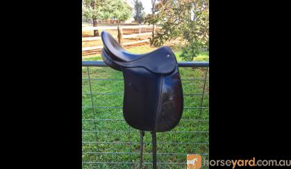 Bates dressage saddle on HorseYard.com.au