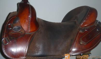 Bob Marshall Treeless Saddle Western Saddle 16