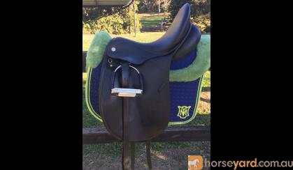Philippe Fontaine Dressage Saddle 17.5