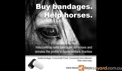 Cohesive (vet wrap) bandages in 6 or 12 packs on HorseYard.com.au