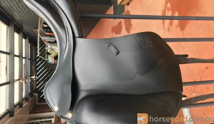 Prestige Tops Dressage Saddle  on HorseYard.com.au