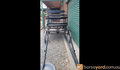 4 Wheel Pony Carriage on HorseYard.com.au