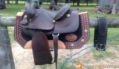Billy Cook Western Trail Saddle on HorseYard.com.au