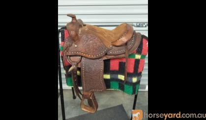 CHILDS WESTERN SADDLE on HorseYard.com.au