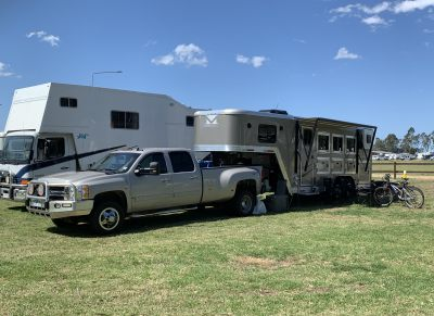 2018 USA merhow float with living on HorseYard.com.au