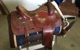 Geoff Hudson Western Saddle on HorseYard.com.au (thumbnail)