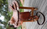 Western Saddle designed by Dale Fredericks on HorseYard.com.au (thumbnail)