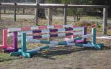 Toddler show jumps 60cmH x 2.4mL set of 3 jumps on HorseYard.com.au (thumbnail)