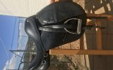 BLACK LEATHER SADDLE  on HorseYard.com.au (thumbnail)