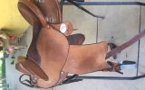 EzyRide Half breed Leather Saddle on HorseYard.com.au (thumbnail)