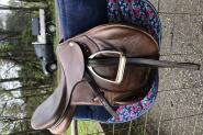 Like new- Pessoa jumping saddle  on HorseYard.com.au