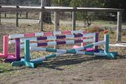 Toddler show jumps 60cmH x 2.4mL set of 3 jumps on HorseYard.com.au