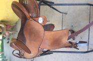 EzyRide Half breed Leather Saddle on HorseYard.com.au
