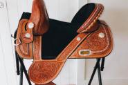 Imported Tammy Fischer Barrel Racing Saddle  on HorseYard.com.au