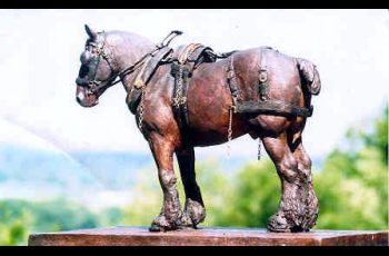Liverpool Honours Shire Work Horses